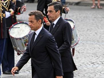 Николя Саркози (Nicolas Sarkozy) и Франсуа Фийон (François Fillon)