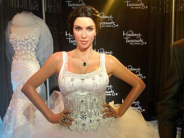 Свадебное платье Ким Кардашьян (Kim Kardashian)