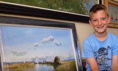 Невероятно, но факт: 13-летний мальчик рисует как Моне