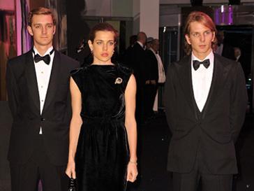 Пьер, Андре и Шарлотта Казираги (Pierre, Andrea & Charlotte Casiraghi) на Балу Роз в Монако