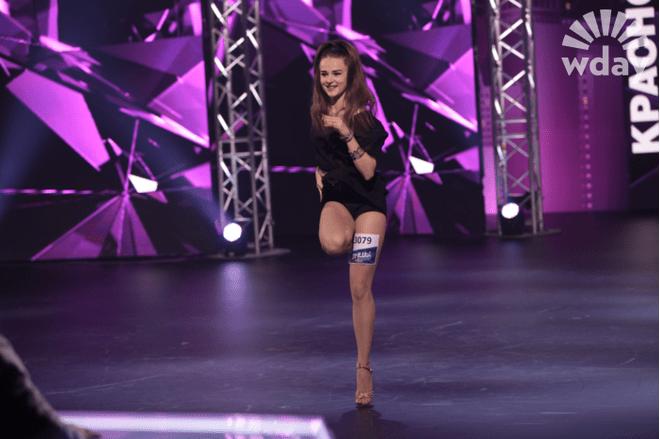 Ксения Котлякова - участница третьего сезона шоу «ТАНЦЫ» на ТНТ