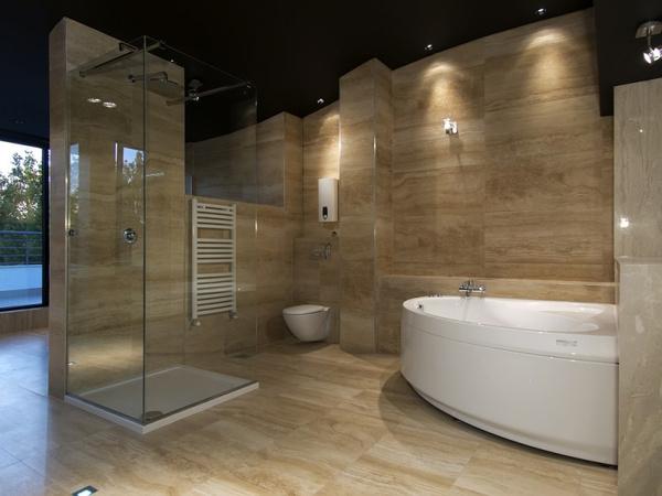 Точечные светильники в ванной: видео