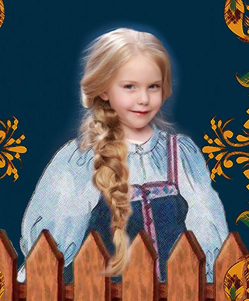 Даша Смирнова, «Уральская краса – русская коса», фото