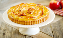 Яблочный пирог с курдом