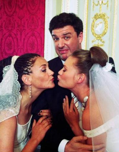 Максим Виторган и его коллеги по фильму