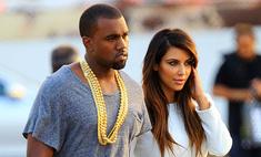Модные отношения: Ким Кардашьян и Канье Уэст будут шить одежду