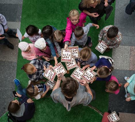Подготовка к школе в BOSCO Bambino ВЕСНА и ГУМе | галерея [2] фото [3]