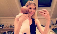 Елена Перминова показала дочку
