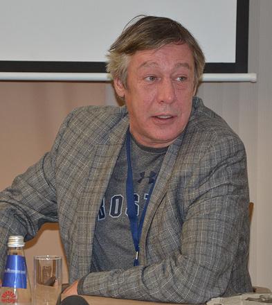 Михаил Ефремов на кинофестивале в Екатеринбурге, фото