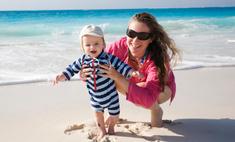 Едем к морю: как отдохнуть с ребенком на руках