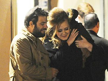 Адель (Adele) и Саймон Конеки (Simon Konecki)