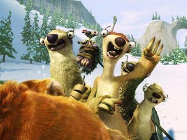 Кадр из фильма «Ледниковый период - 4»