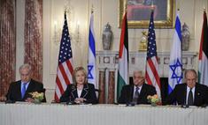 Барак Обама сводит палестинцев и израильтян напрямую