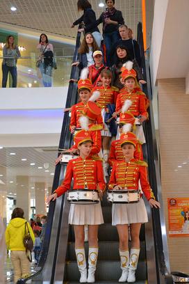 Фестиваль живых скульптур в Иркутске