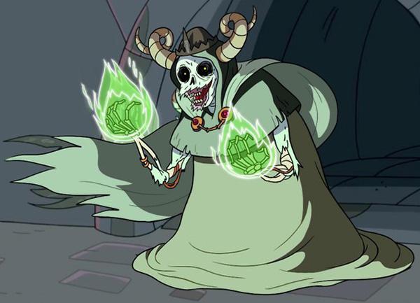 Лич из мультфильма «Время приключений»