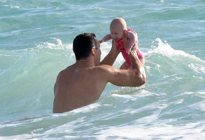Владимир Кличко с дочкой: фото