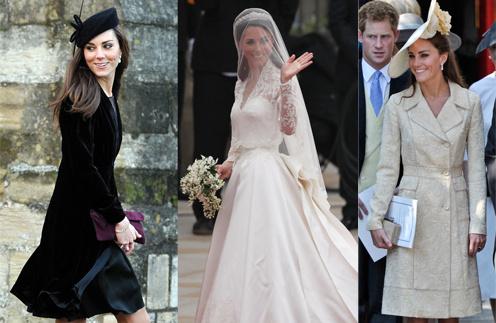 Кейт Миддлтон (Kate Middleton) отлично выглядела не только в качестве невесты, но и в качестве гостьи на свадьбе
