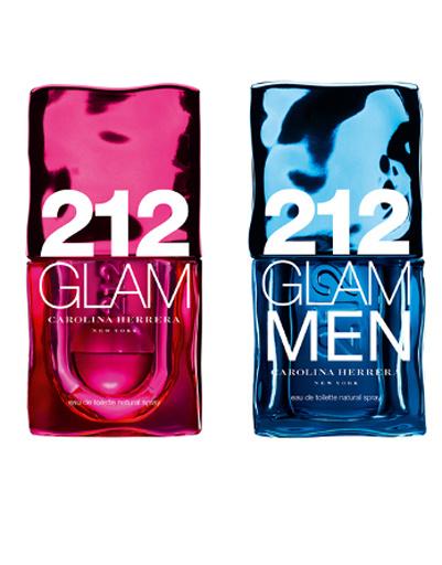 парные ароматы 212 Glam, Carolina Herrera