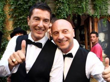 Доменико Дольче (Domenico Dolce) и Стефано Габбана (Stefano Gabbana)