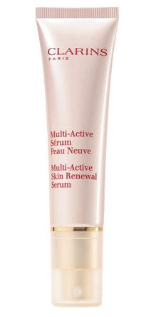 Сыворотка, стимулирующая обновление клеток кожи, Multi-Active-Serum-Peau-Neuve, Clarins.