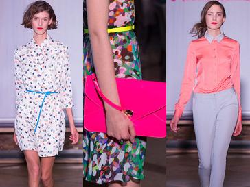 Модели на показе Kira Plastinina весна-лето 2013