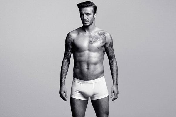 Дэвид Бекхэм в рекламе H&M