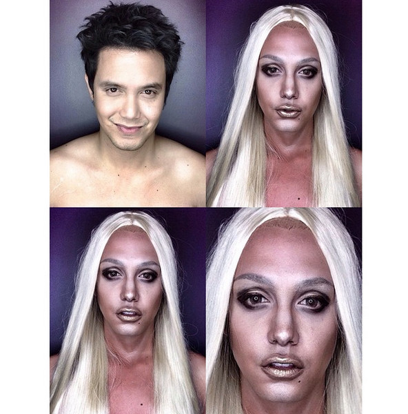 Филиппинский визажист перевоплотился в звезд с помощью макияжа   галерея [1] фото [7]