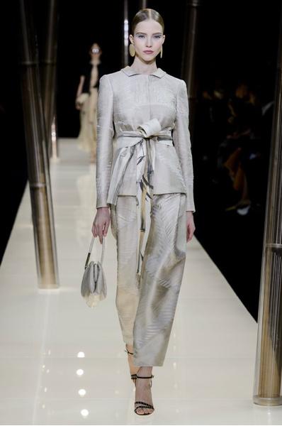 На Неделе высокой моды в Париже прошел юбилейный показ Giorgio Armani Prive | галерея [1] фото [31]