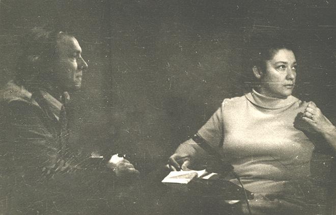 Иннокентий Смоктуновский редкие фото
