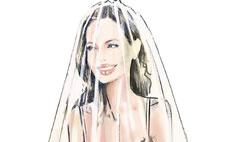 Анджелина Джоли рассказала о своем свадебном платье