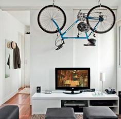 Необычный элемент декора: велосипед
