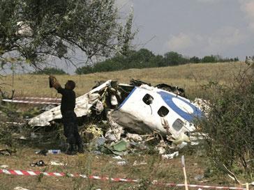 Крушение Ту-154