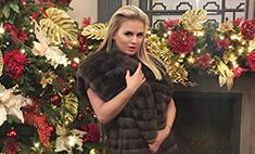 Анна Семенович худеет к Новому году на яблоках и кабачках