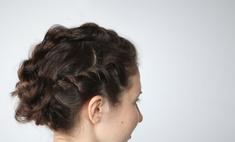 Прически с плетением: жгуты из волос