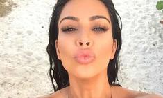 15 самых сексуальных селфи Ким Кардашьян