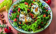 Салат с яйцом