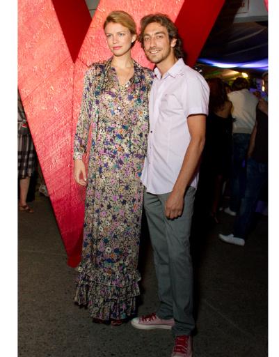 Артем Ткаченко с женой Евгенией