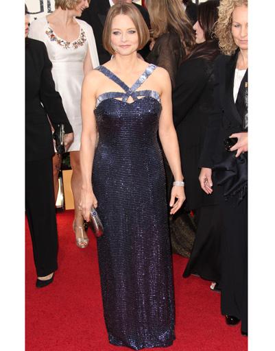 """Джоди Фостер (Jodie Foster) на """"Золотом глобусе""""-2013"""