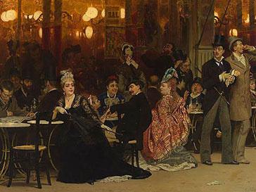 За картину Ильи Репина «Парижское кафе» отдали свыше $7 млн.
