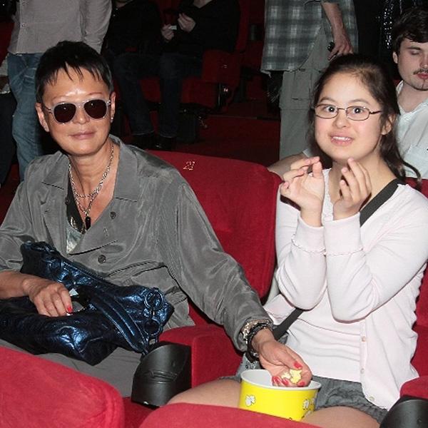 Ирина Хакамада с дочкой