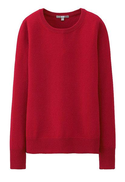 Кашемировый свитер Uniqlo, 2999 р.