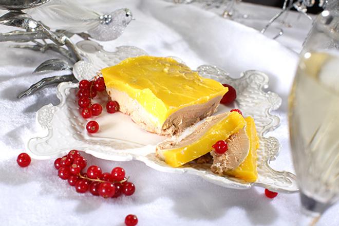 Фуа-гра с арманьяком и трюфелями