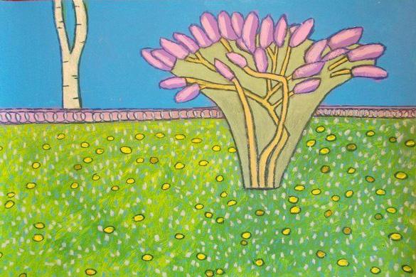 Дыхание лета в ярких полотнах Надежды Фроловой