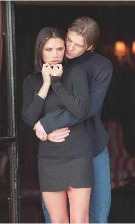 Дэвид и Виктория Бекхэм, 1998 год