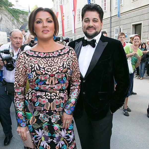 Анна Нетребко представила на Новой Волне своего будущего мужа