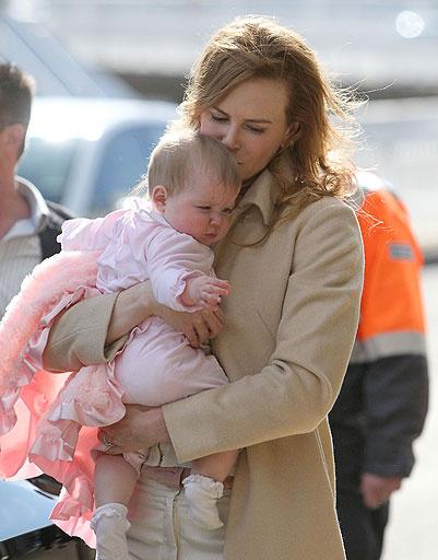 Николь Кидман (Nicole Kidman) с дочкой