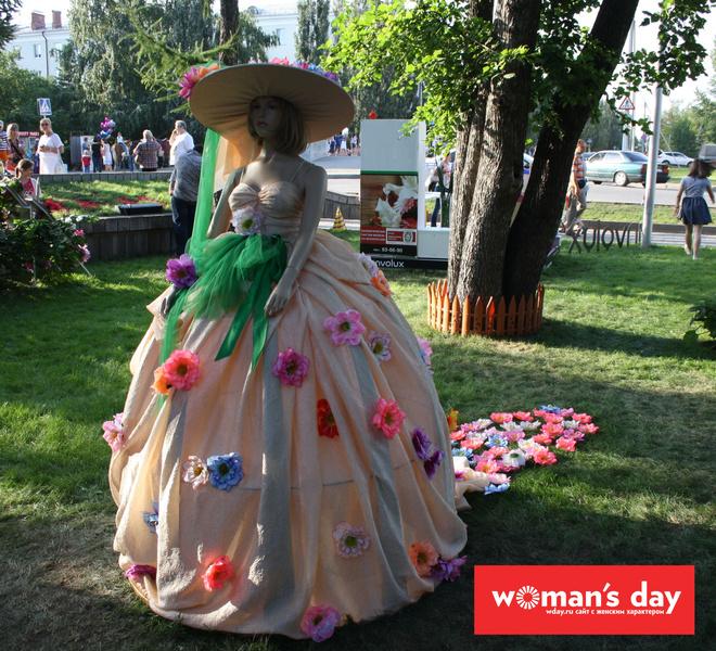 Омск, День города, Флора-2014