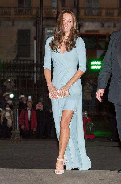 Кейт Миддлтон в платье Jenny Packham