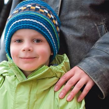 Сева, 4,5 года …когда папа и мама добрые и веселые