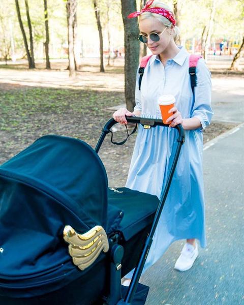 Полина Гагарина пробует сбросить лишний вес после рождения дочери